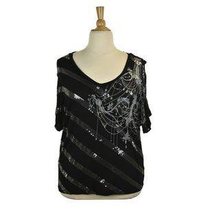 DressBarn Blouses 1X Black